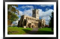 St Swithuns Church,Retford, Framed Mounted Print