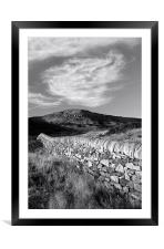 Callow Bank, Framed Mounted Print