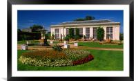 Mount Edgcumbe Country Park,Cornwall, Framed Mounted Print