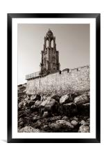 Wellington Clock Tower,Swanage, Framed Mounted Print