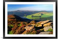 View Across Ladybower Reservoir, Framed Mounted Print