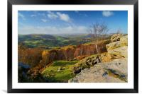 Hope Valley View, Framed Mounted Print