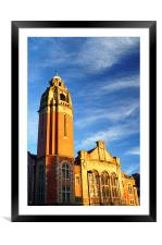 Victoria Hall, Sheffield, Framed Mounted Print