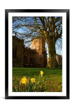 St Marys Church, Framed Mounted Print