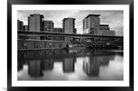 Victoria Quays & Modern Buildings, Framed Mounted Print