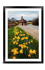 Chard Round House, Framed Mounted Print