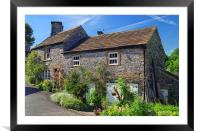 Bradwell Cottage, Framed Mounted Print