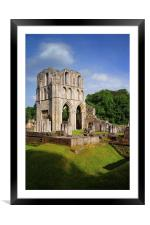 Roche Abbey Ruins 2, Framed Mounted Print
