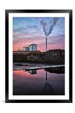 Urban Reflections 2, Framed Mounted Print