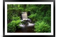 Upper Coppice Wheel, Rivelin, Framed Mounted Print