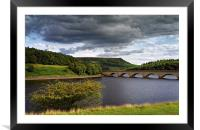 Summer at Ladybower , Framed Mounted Print