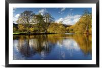 Derwent Reflections , Framed Mounted Print