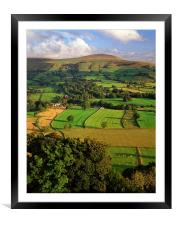 Lose Hill, Framed Mounted Print