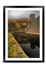 Autumn Shades at Derwent , Framed Mounted Print