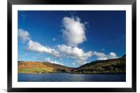 Big Clouds at Ladybower, Framed Mounted Print