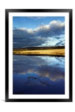 Longshaw Reflections, Framed Mounted Print