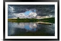 Storm Clouds over Ulley                 , Framed Mounted Print