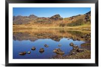 Blea Tarn Reflections                             , Framed Mounted Print