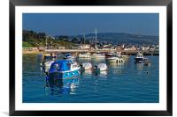 Lyme Regis Harbour                       , Framed Mounted Print