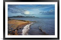 Golden Cap and Jurassic Coastline                 , Framed Mounted Print