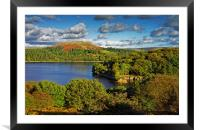 Burrator and Sheepstor                            , Framed Mounted Print