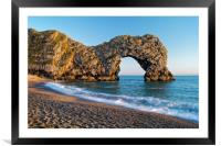 Durdle Door                     , Framed Mounted Print