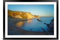 Man O'War Bay                   , Framed Mounted Print