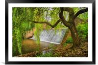 River Sid Falls                    , Framed Mounted Print