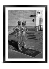 Women of Steel, Sheffield                        , Framed Mounted Print