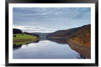 Ladybower Reflections                           , Framed Mounted Print