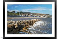 Lyme Regis from North Wall                      , Framed Mounted Print