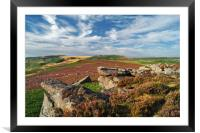View from Over Owler Tor                    , Framed Mounted Print