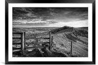 Gateway Along The Great Ridge                     , Framed Mounted Print