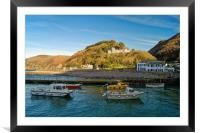 Lynmouth Harbour                         , Framed Mounted Print