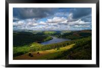 Ladybower & Derwent Valley                      , Framed Mounted Print