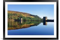 Derwent Dam and Reservoir                         , Framed Mounted Print