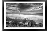 Hope Valley Inversion                             , Framed Mounted Print