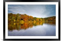Damflask Reflections                              , Framed Mounted Print