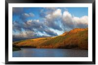 Ladybower in Autumn                      , Framed Mounted Print