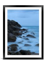 The Blue Hour, Framed Mounted Print