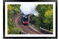 The Flying Scotsman, Framed Mounted Print