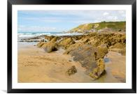 Dollar Cove Gunwalloe, Framed Mounted Print