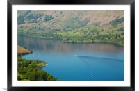 Ullswater View, Framed Mounted Print