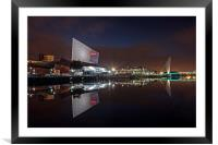 Imperial War Museum North, Framed Mounted Print