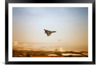 The mighty Vulcan., Framed Mounted Print