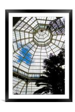 Palm House, Framed Mounted Print
