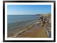 The Tide has Turned, Framed Mounted Print