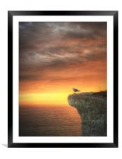 Contemplation, Framed Mounted Print