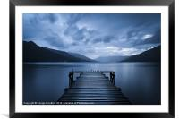 Water, Framed Mounted Print