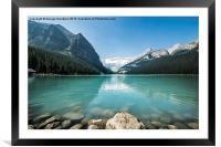 Lake Louise, Framed Mounted Print
